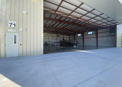 Commercial Constrution Hangar